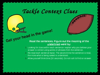 Tackling Context Clues