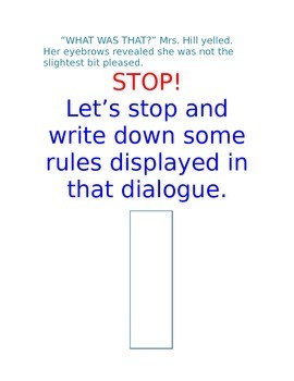 Tackling Dialogue in a Day