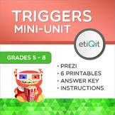 Triggers & Emotions Middle School Mini-Unit | Prezi & Printable Activities