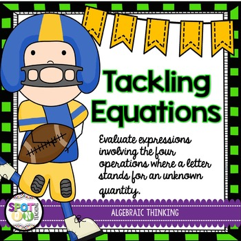 Tackling Equations {Math Workstation}