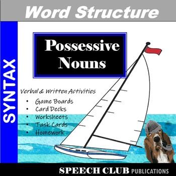 Tackling Possessives - Games & Worksheets for Managing Possessive Morphemes