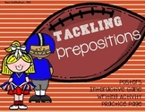 Tackling Prepositions Activity Bundle: Common Core Aligned Posters and Practice
