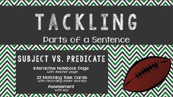 Tackling Subjects and Predicates