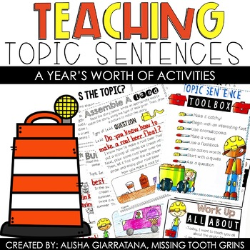 Topic Sentences Bundle