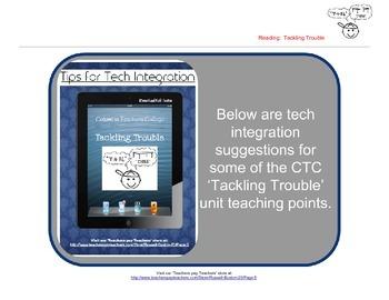 Tackling Trouble 1st Grade Reader's Workshop iPad Tech Integration