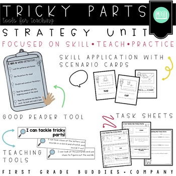 Tackling the Tricky Parts! Reading Fix - Up Strategies