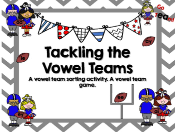 Vowel team sorting activity