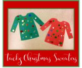 Tacky Christmas Sweater Craft