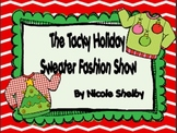 Tacky Holiday Sweater Fashion Show Writing Activity