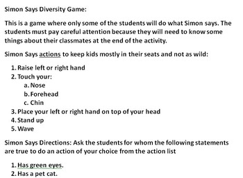 Tacky Respect/Diversity Lesson