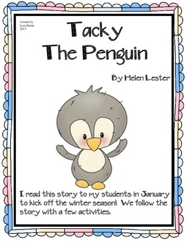 Tacky The Penguin Picture Book Supplemental Activites
