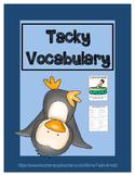 Tacky Vocabulary