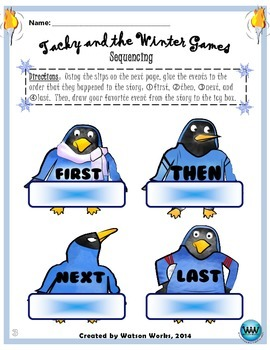 Tacky and the Winter Games - Winter Olympics English/Reading Activities