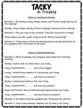 Tacky in Trouble Reader's Theater