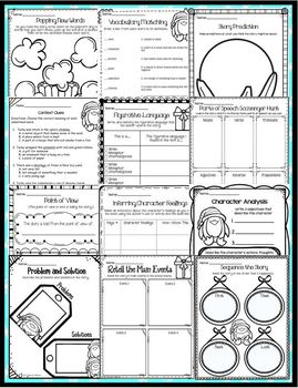 Tacky's Christmas Book Companion and Mentor Text Activities