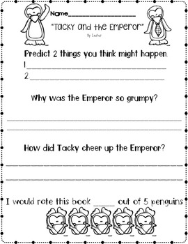 Tacky & the Emperor... Freebie