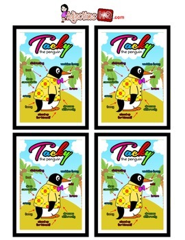Tacky the Penguin Adjective Poster