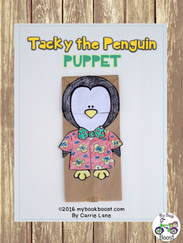 Tacky the Penguin Puppet