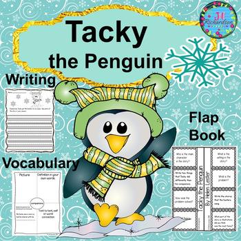 Tacky the Penguin Book Companion  (Interactive Printable and Writing Rubrics)