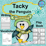 Penguins ELA Tacky the Penguin Activities with Writing Rubrics