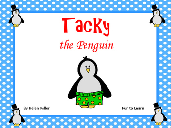 Tacky the Penguin  ~  26 pg. Common Core Activities