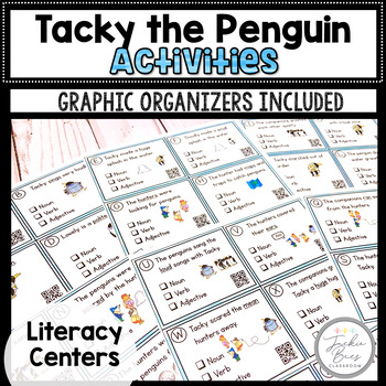 Tacky the Penguin Writing and Graphic Organizers