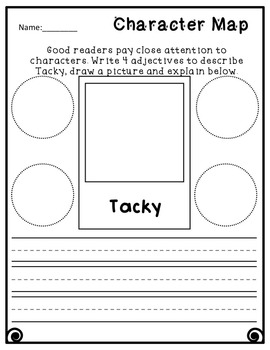Tacky the Penguin Book Study K-3