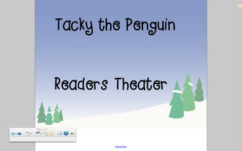 Tacky the Penguin Christmas Readers Theater