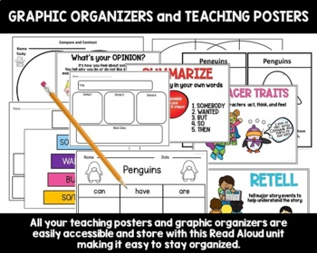Tacky the Penguin Read Aloud Book Activities with Lesson Plans