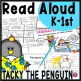 Tacky the Penguin Reading Comprehension Activities and Lesson Plans