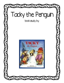 Tacky the Penguin Common Core Comprehension Pack