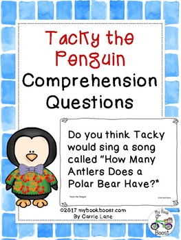 Tacky the Penguin Comprehension