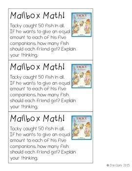 Tacky the Penguin Curricular COMPANIONS! {Language Arts & Math Activities}