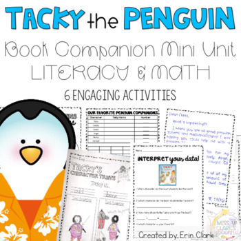 Tacky the Penguin Curricular COMPANIONS! {Language Arts &