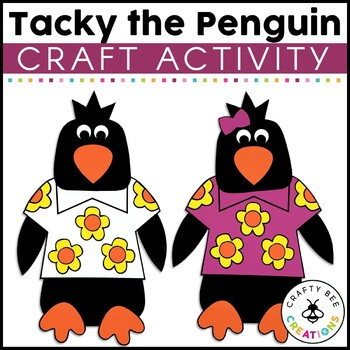 Tacky the Penguin Cut and Paste