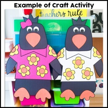 Penguin Craft {Tacky the Penguin}