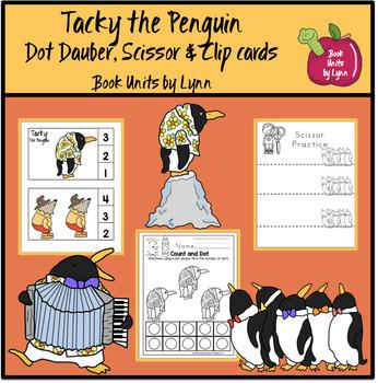 Tacky the Penguin  Dot Dauber, Scissor & Clip Cards