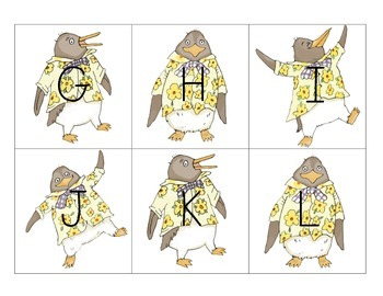 Tacky the Penguin ELA Extension Activities