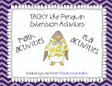 Tacky the Penguin ELA and Math Extension Activities {COMBINED}