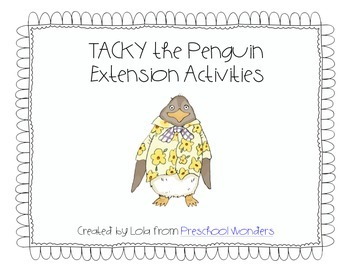 Tacky the Penguin Extension Math Activities