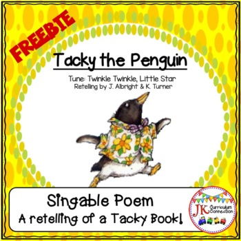 Tacky the Penguin FREE Song