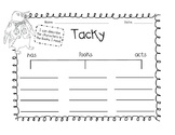 Tacky the Penguin Literacy Activities