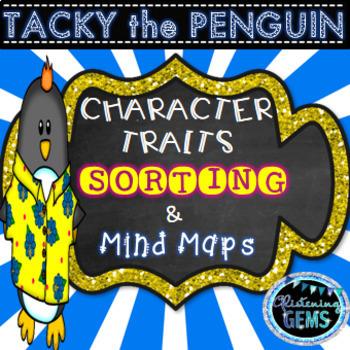 Tacky the Penguin Literacy Centers Bundle