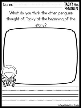 Tacky the Penguin {Literature Unit}