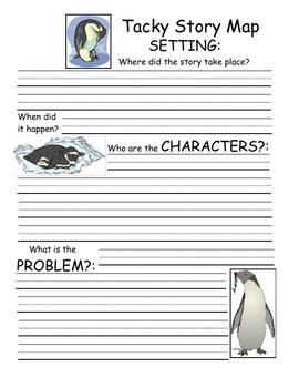 Tacky the Penguin Literature Unit