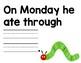 The Very Hungry Caterpillar Mentor Sentence
