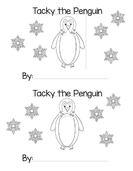 Tacky the Penguin - Mini Book