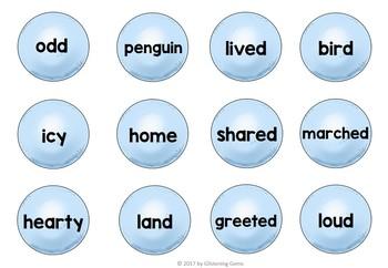 Tacky the Penguin - Nouns, Verbs & Adjectives Sort
