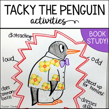 Tacky the Penguin Printables and Activities for K2 by Susan Jones