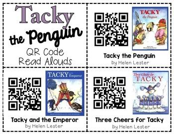 Tacky the Penguin QR Codes